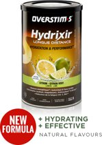 Overstim's Hydrixir Long Distance Sports Drink Lemon-Lime 600g