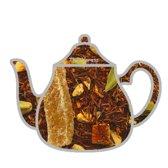 Rooibos sinaasappel chai thee, rooibos thee, 100 gram losse thee