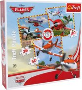 Disney Puzzel planes 3 in 1