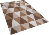 Beliani XANTI - Vloerkleed - Beige - Polyester