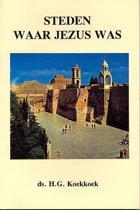 Steden waar Jezus was