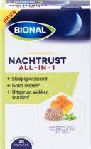 Bional nachtrust - all-in-1 caps - 20 stuks