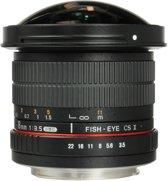 Samyang 8mm F3.5 UMC Fisheye CSII - Prime lens - geschikt voor Canon Spiegelreflex