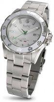 Tutti Milano  TM900SWH- Horloge - 42 mm - Zilverkleurig - Collectie Corallo Steel
