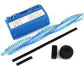 NiMh accu, batterij 4800 mAh voor Scooba (385, 5800, etc) met 2 wieltjes, borstel en rubberrandjes