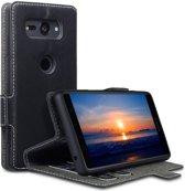 Sony Xperia XZ2 Compact hoesje - CaseBoutique - Zwart - Kunstleer