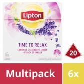 Lipton Time to Relax Kruiden Infusie - 120 theezakjes