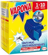 Vapona Anti Mug Stekker met 10 Tabletten