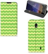 Hoesje met Magneet Nokia 2.2 Waves Green