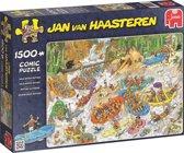 Jan van Haasteren Wild Water Raften - Puzzel 1500 Stukjes