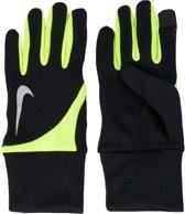Nike Tailwind - Hardloophandschoenen - Mannen - Maat L - Zwart/Geel