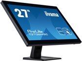 iiyama ProLite T2736MSC-B1 touch screen-monitor 68,6 cm (27'') 1920 x 1080 Pixels Zwart Multi-touch