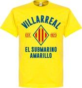 Villarreal Established T-Shirt - Geel - XL