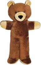 XXL teddybeer - bruin - 170 cm