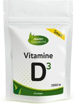 Vitamine D3 2000ie SMALL  - 30 softgels