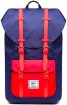 Yulo Backpack Rugzak - Offroad - Geschikt voor max 15.6 inch Laptops - Blauw/Rood