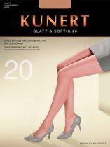 Kunert Glatt & Softig 20 kleur: hasel maat: S