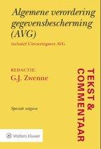 Tekst & Commentaar - Algemene verordening gegevensbescherming (AVG)
