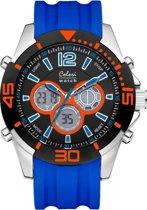 Colori Urban 5 CLD065 Digitaal Horloge - Siliconen Band - Ø 47 mm - Blauw