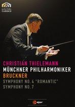 """Anton Bruckner - Symphony No. 4 """"Romantic"""" & No. 7"""