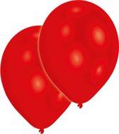 Amscan Ballonnen Rood 10 Stuks 28 Cm