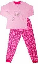 AnnaRebella Meisjes Pyjama Roze Maten: 140