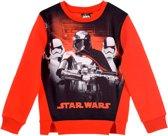 Disney - Star Wars - Kinder/kleuter - Lente - sweater/trui - rood - Maat 104 ( 4 jaar)