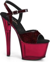 SKY-308N (EU 40 = US 10) 7 Heel, 2 3/4 PF Ankle Strap Sandal