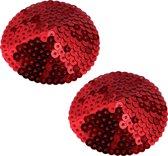 Pinch - Boudoir Round Sparkling - Tepelversiering - Rood