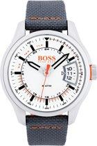 Hugo Boss Orange HO1550015 Horloge - Nylon - Grijs - 46mm
