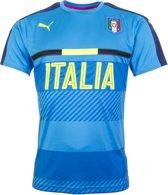 Puma Italië Trainingsshirt - Seizoen 16/18  Kleur Atomic Blue Peacoat - Maat S
