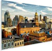 De architectuur van Cincinnati in de Verenigde Staten Plexiglas 180x120 cm - Foto print op Glas (Plexiglas wanddecoratie) XXL / Groot formaat!