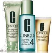 Clinique 3 Step Creates Great Skin Introductie Kit Huidtype 4 - Voor de vette huid - 3 stuks
