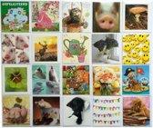Verjaardagskaarten - Dieren - Kids - Set van 20