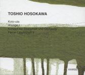 Hosokawa: Koto-Uta, Voyage I, Concerto Pour Saxoph