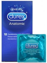 Durex Anatomic 12 stuks (Durex Classic Natural)