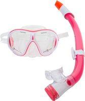 Aqua Lung Sport Ivy + Seabreeze - Snorkelset - Wit/Coral