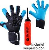 Elite - Neo Aqua - Keepershandschoenen - inclusief Keepersbidon - maat 7 - voetbal keepershandschoenen - keepershandschoen - Goalkeeper handschoen