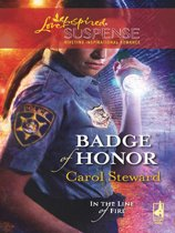 Badge of Honor (Mills & Boon Love Inspired Suspense) (In the Line of Fire - Book 2)