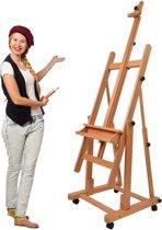 Artina Schilderezel – Beukenhout XXL Atelierezel – tot 345cm Hogte -  Verona