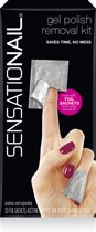 Sensationail Removal Wraps - Gel nagellak