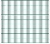 vidaXL Dubbelstaafmatten 2008 x 1830mm 46m Groen 23 stuks