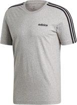 ADIDAS 3S Shirt Heren - Grijs - Maat XS
