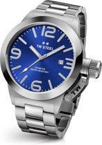 TW Steel CB11 Canteen Bracelet Collection - Horloge -  45 mm - Zilverkleurig