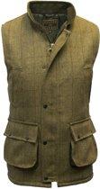 Tweed vest - light sage - maat S