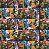 Teenage Mutant Ninja Turtles kaftpapier schoolboeken - 5 rollen
