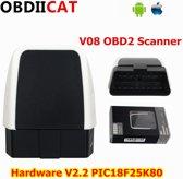 Auto Diagnostische Interface Plug V2.2 Bluetooth 4.0 Obd2 ELM327 Scanner voor Android IOS Windows