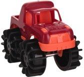 Free And Easy Speelgoedauto Monstertruck 12 Cm Rood
