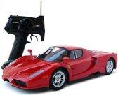 Bestuurbare auto Ferrari Enzo 1:14 (licentie model) - Lengte 33 cm.
