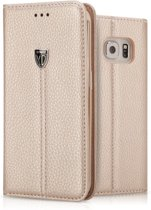 Xundd Fundas Noble Series Case Cover Hoesje Voor Samsung Galaxy S6 Edge Goud